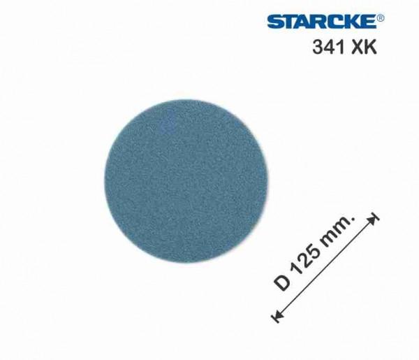 ზუმფარა ფხრიწით Starcke 341XK Ø 125 მმ ქსოვილზე