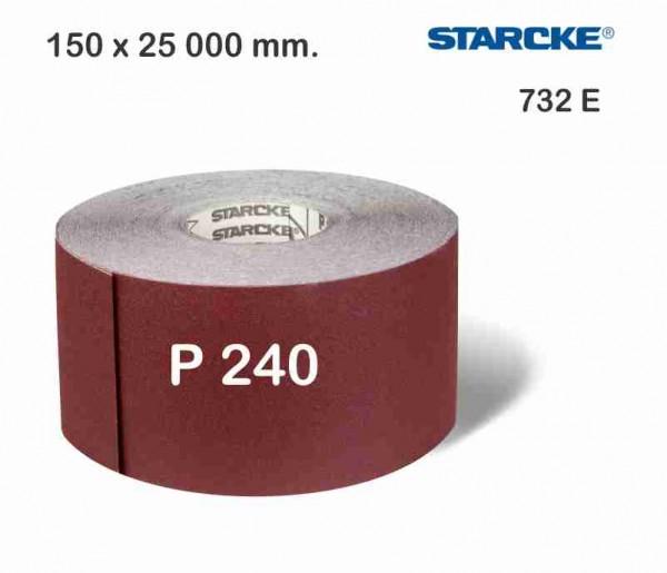 რულონის ზუმფარა Starcke 732 E 150 x 50.000 მმ.P240