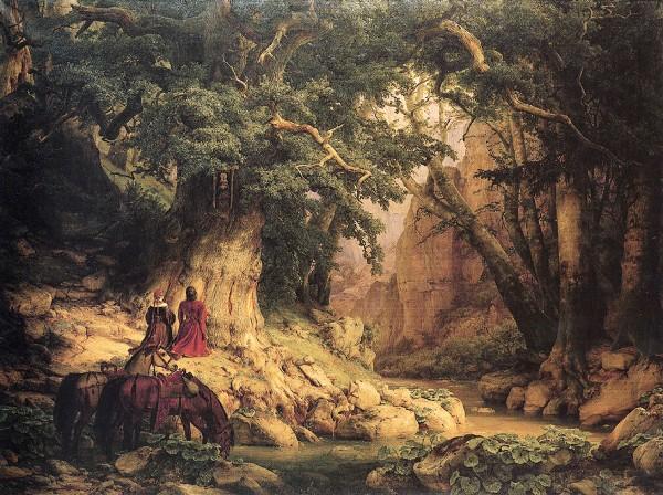 Tausendjaehrige_Eiche_-Lessing_1837